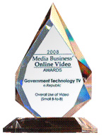 GTtv Media Business Award